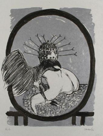 Литография Vacchi - Studio per La Celebrazione