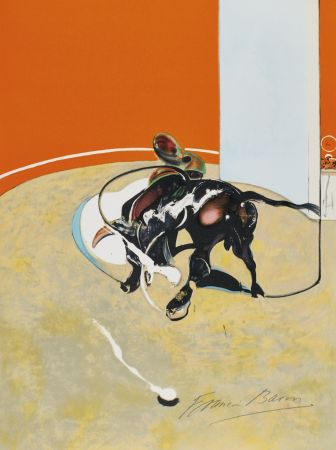 Литография Bacon - Study for bullfight, n° 3