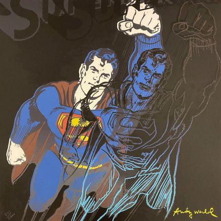 Гашение Warhol - Superman