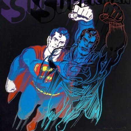 Сериграфия Warhol - Superman (FS II.260)