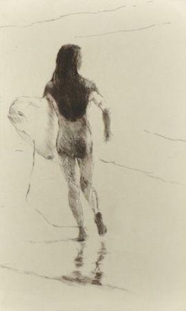 Гравюра Paul P - Surfista corrent