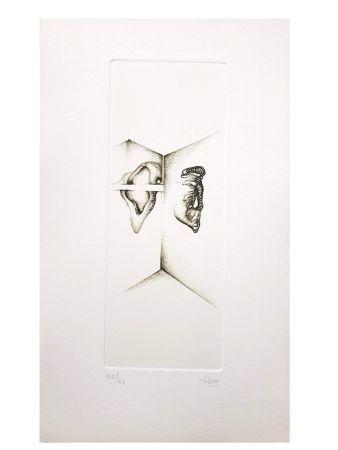Литография Deux - Surréalisme Gris I
