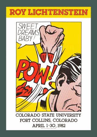 Сериграфия Lichtenstein - Sweet Dreams, Baby! (Hand Signed)