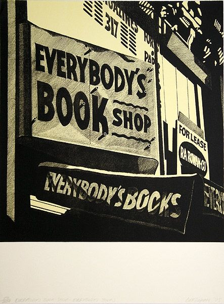 Литография Cottingham - Switzerland Everybody´s bookshop