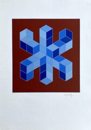 Сериграфия Vasarely - Sylla-6