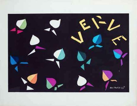 Литография Matisse -