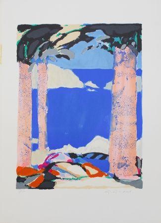 Литография Godard - Symphonie en bleu IV