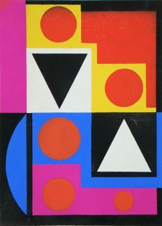 Трафарет Herbin - Témoignages pour l'art abstrait