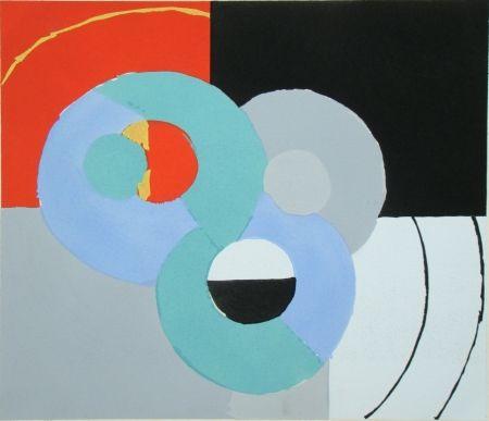 Трафарет Delaunay - Témoignages pour l'art abstrait