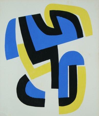 Трафарет Dewasne - Témoignages pour l'art abstrait