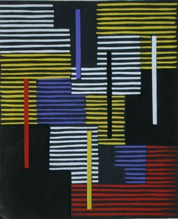 Трафарет Fleischmann - Témoignages pour l'art abstrait