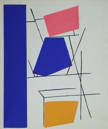 Трафарет Mortensen - Témoignages pour l'art abstrait