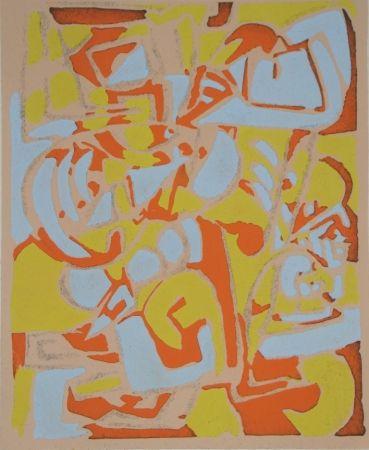 Трафарет Raymond - Témoignages pour l'art abstrait