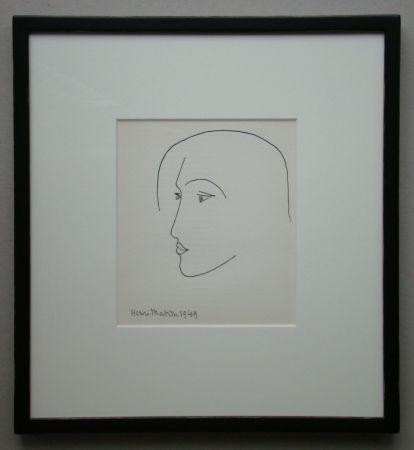 Литография Matisse - Tête, 1949