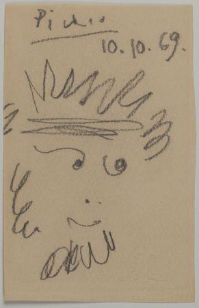 Нет Никаких Технических Picasso - Tête de Faune (Faun's Head)