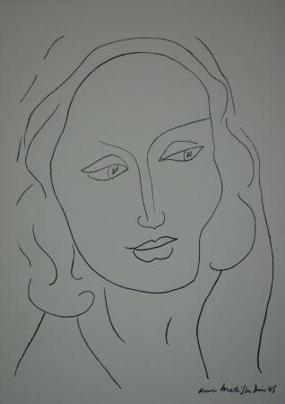 Литография Matisse - Tête de Femme