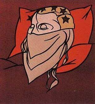 Литография Adami - Tête de femme