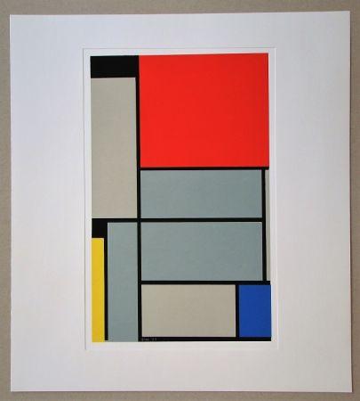 Сериграфия Mondrian - Tableau I. - 1921