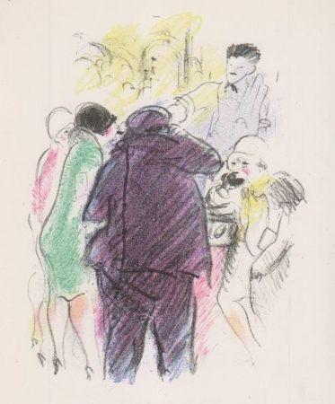 Иллюстрированная Книга Vertes - Tableaux contemporains: Tableau des Courses, de la Boxe, de la Vénérie, de l'Amour Vénal, des Grands Magasins, de la Mode, de l'Au-Delà, du Palais, de la Bourgeoisie.