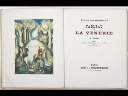 Иллюстрированная Книга Boussingault - Tableaux contemporains: Tableau des Courses, de la Boxe, de la Vénérie, de l'Amour Vénal, des Grands Magasins, de la Mode, de l'Au-Delà, du Palais, de la Bourgeoisie.