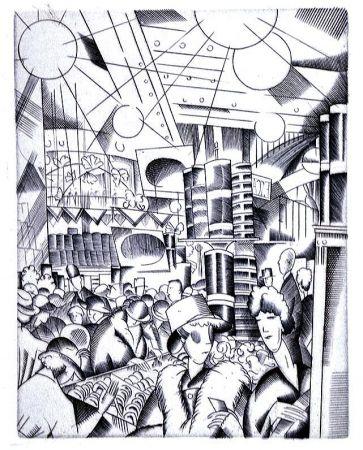 Иллюстрированная Книга Laboureur - Tableaux contemporains:  Tableau des Courses, de la Boxe, de la Venerie, de l'Amour Venal, des Grands Magasins, de la Mode, de l'Au-Delà, du Palais, de la Bourgeoisie