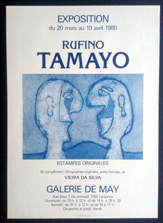 Афиша Tamayo - Tamayo - Estampes Originales - Galerie de May 1980