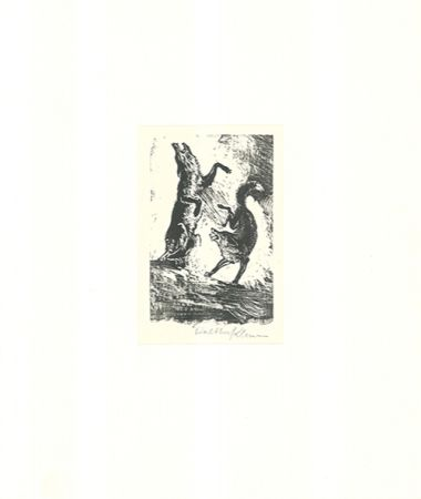 Гравюра На Дереве Klemm - Tanz der Tiere