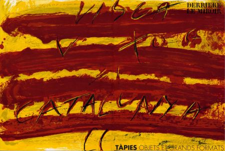 Иллюстрированная Книга Tapies - TAPIES : Objets et grands formats. DERRIÈRE LE MIROIR N° 200. 1972