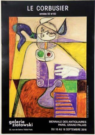 Гашение Le Corbusier - Taureau  Galerie Zlotowski