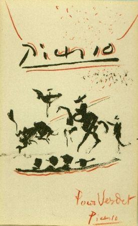 Литография Picasso - Tauromachie