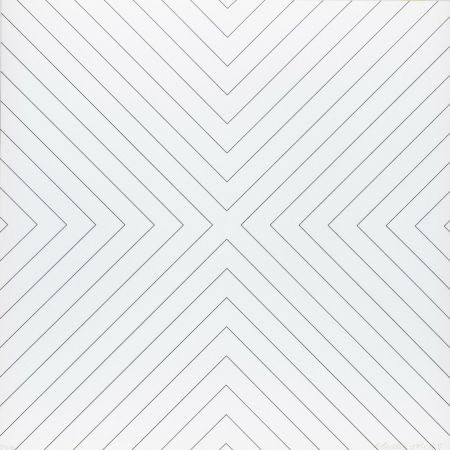 Сериграфия Morellet - Tavola 5