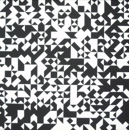 Сериграфия Morellet - Tavola 7
