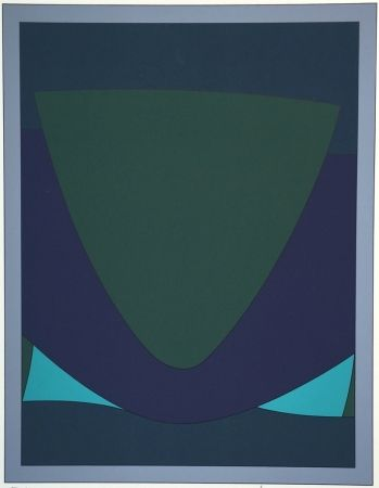 Сериграфия Vasarely - Tecoma