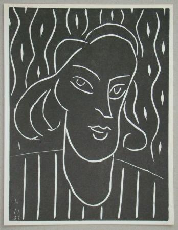 Линогравюра Matisse - Teeny, 1938
