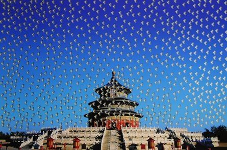Сериграфия Yan - Temple of Heaven