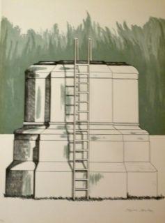 Литография Campeny - THE ASCENT