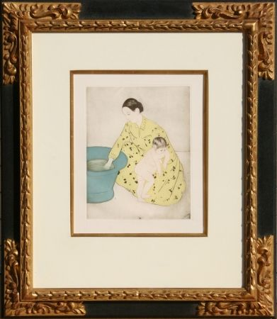 Гравюра Cassatt - The Bath