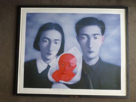 Литография Zhang - The big family number 9
