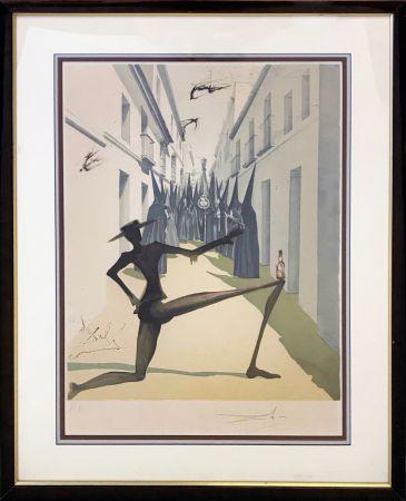 Литография Dali - THE BIRD HAS FLOWN