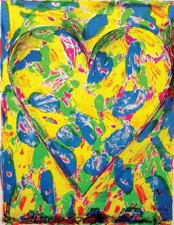 Литография Dine - The Blue Heart