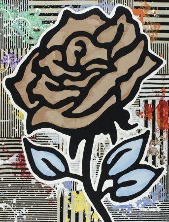 Многоэкземплярное Произведение Baechler - The brown rose