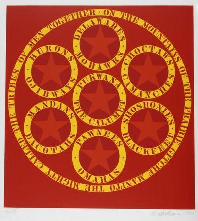 Литография Indiana - The Calumet, from