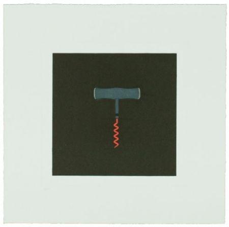 Гравюра Craig-Martin - The Catalan Suite I - Corkscrew