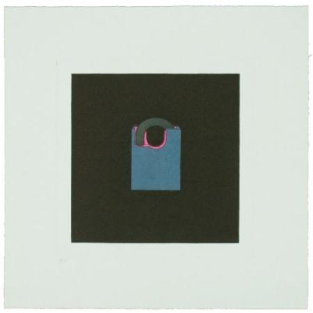 Гравюра Craig-Martin - The Catalan Suite I - Padlock