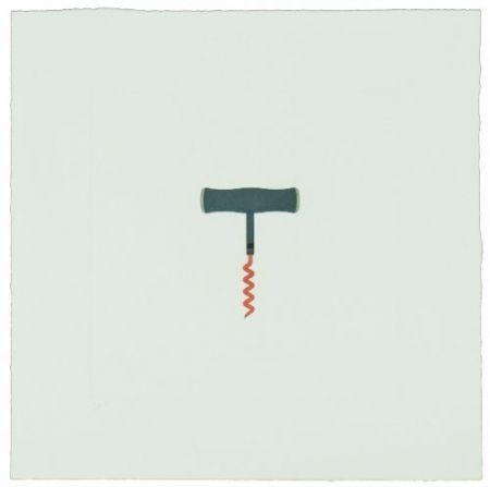 Гравюра Craig-Martin - The Catalan Suite II - Corkscrew