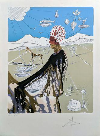 Литография Dali - THE EARTH GODDESS (THE CHEF)