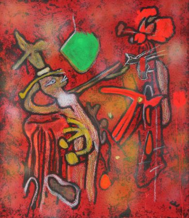 Гравюра Matta - The Eld of the World