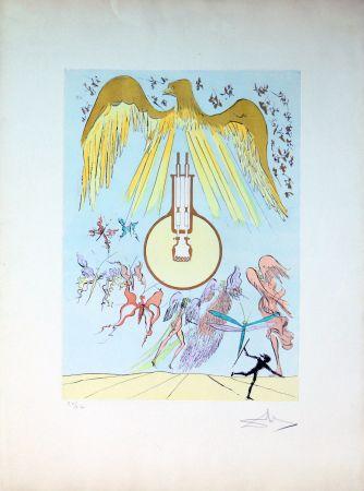 Офорт Dali - The Electric Light Bulb