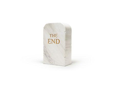 Нет Никаких Технических Cattelan - The End (marble)
