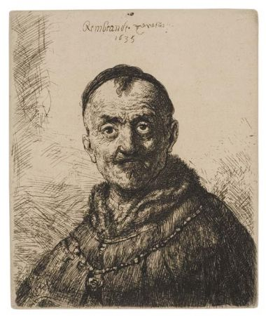 Гравюра Rembrandt - The First Oriental Head